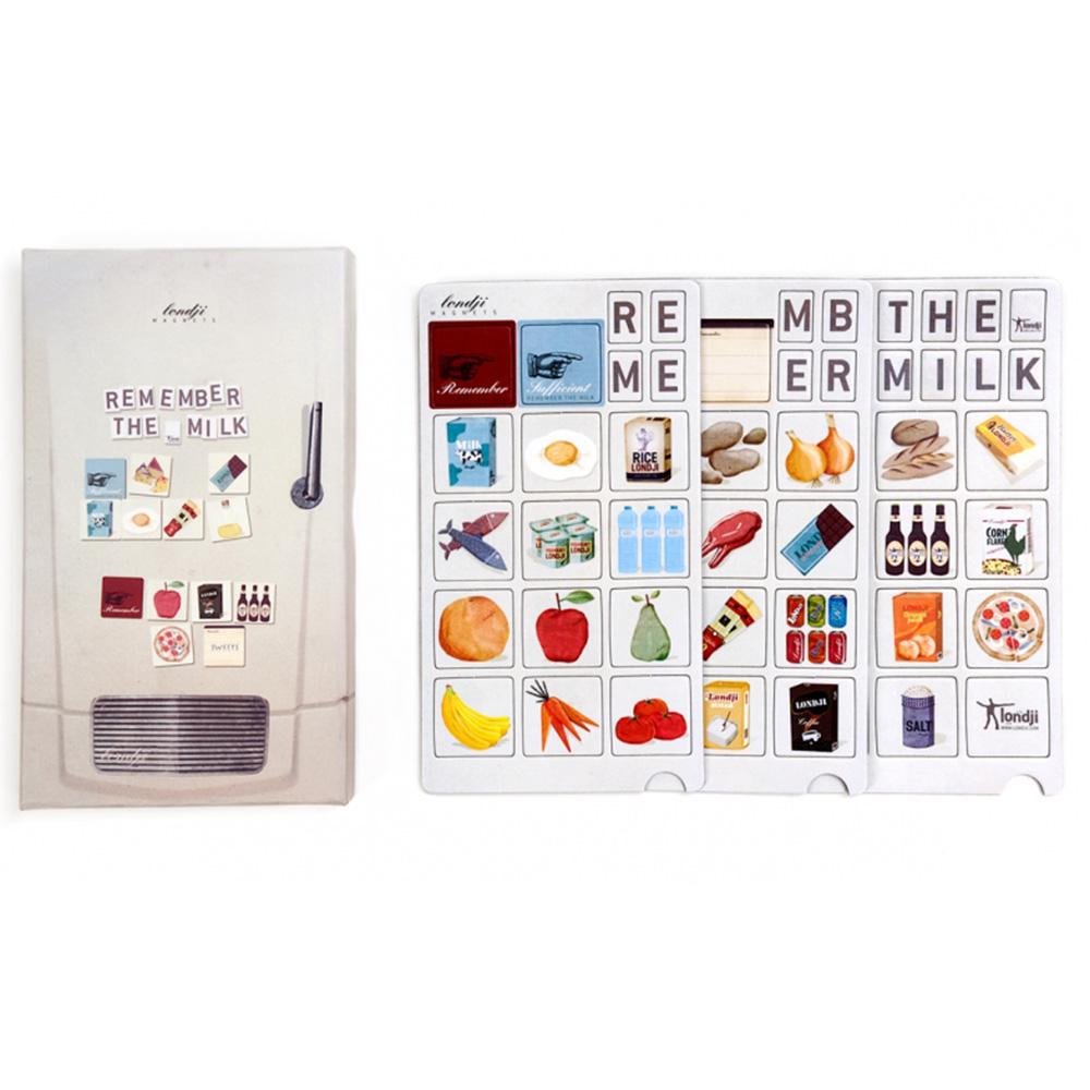 西班牙Londji|購物清單冰箱磁鐵組