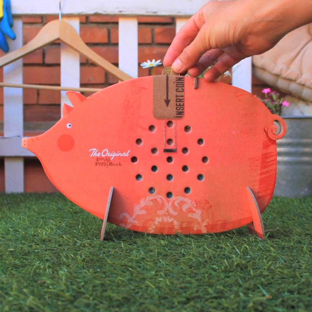 西班牙Londji|組裝遊戲-小豬錢筒