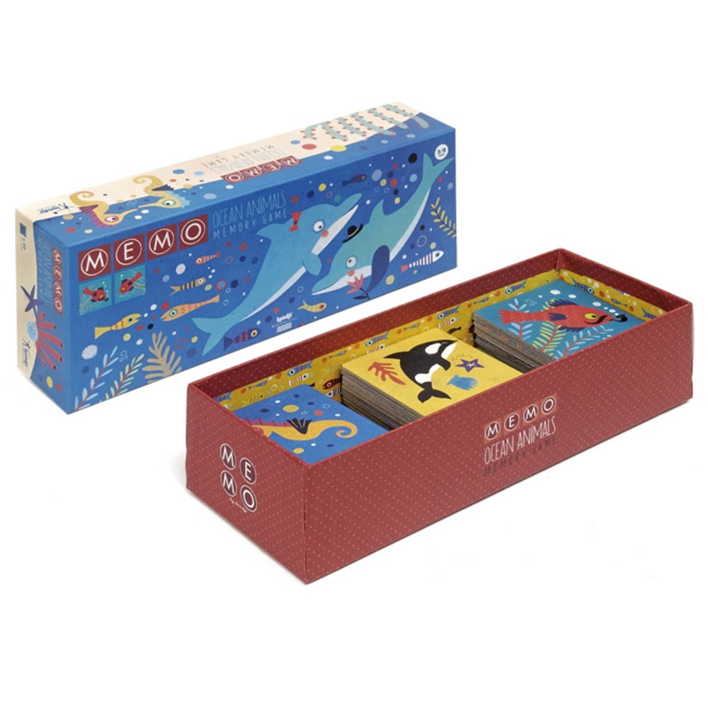 西班牙Londji 記憶遊戲-深海探險