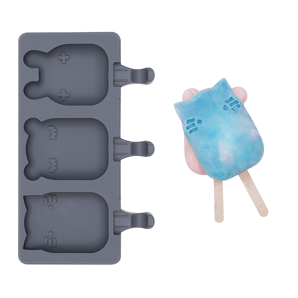 澳洲We Might Be Tiny|矽膠動物冰棒盒-木炭黑