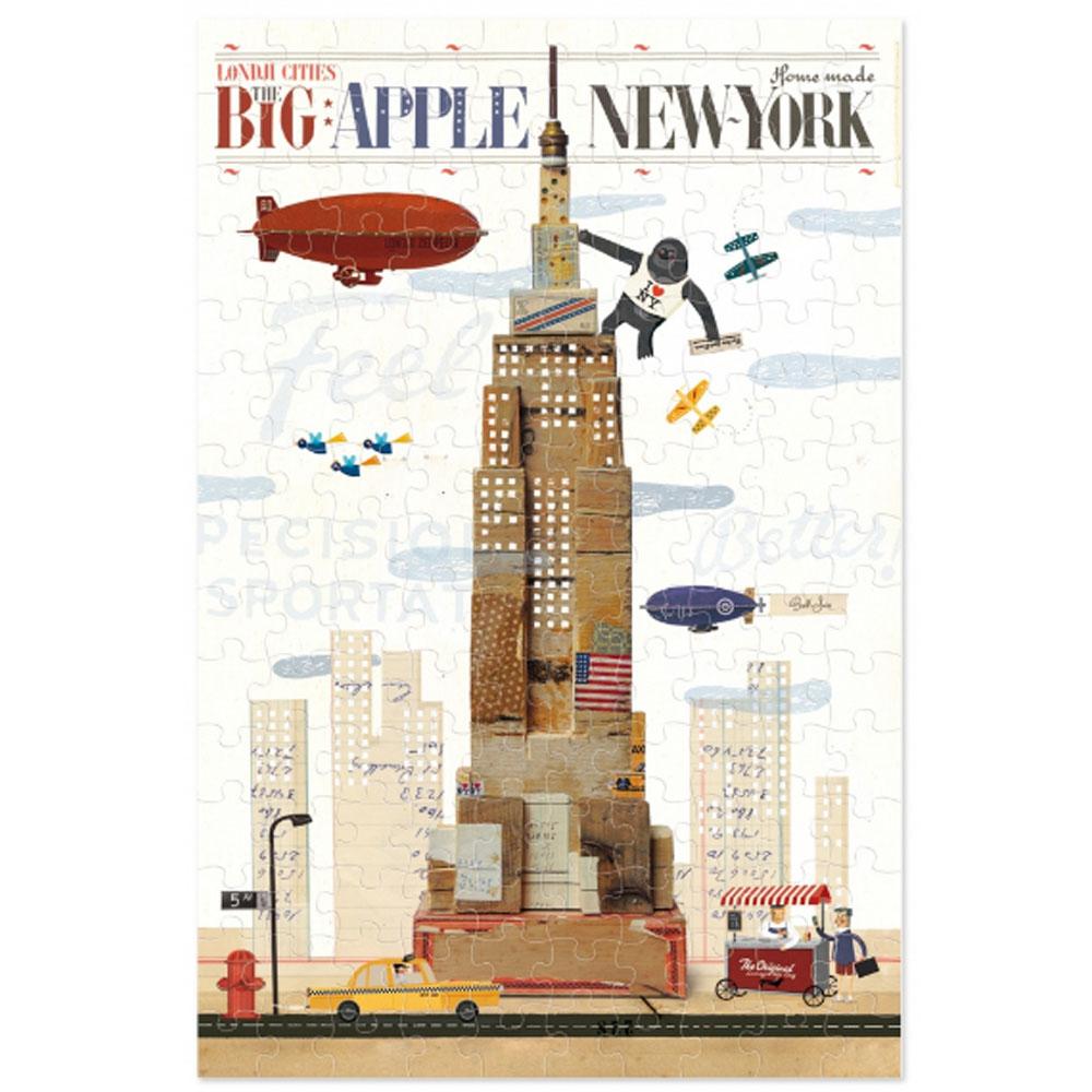 西班牙Londji|紐約帝國大廈迷你拼圖