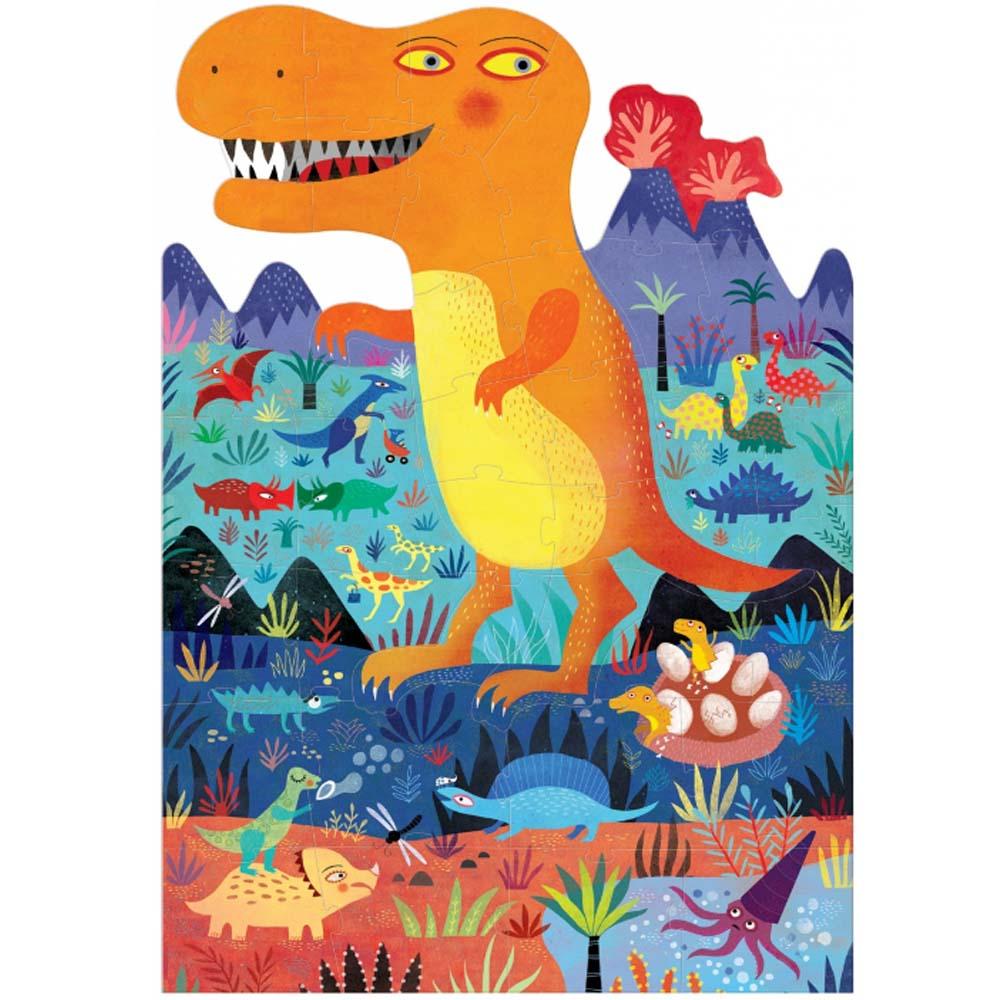 西班牙Londji|恐龍世界造型拼圖