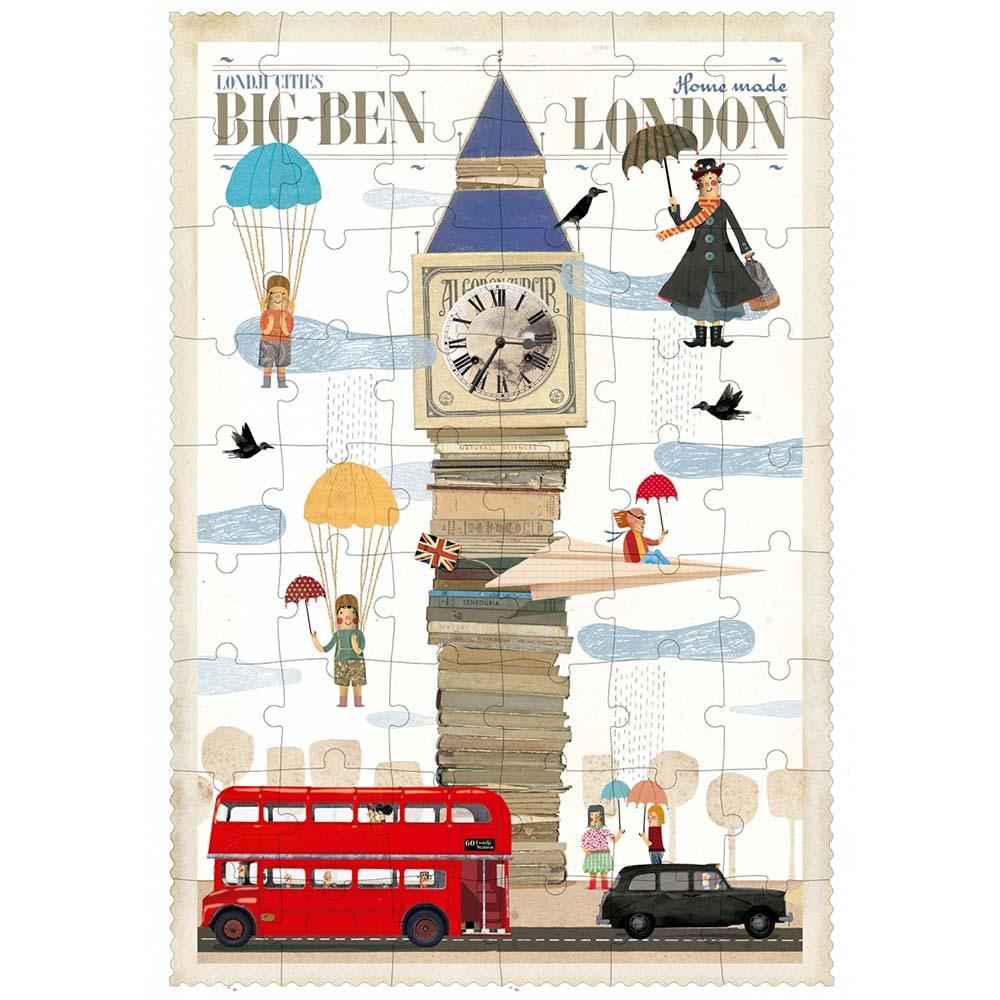 西班牙Londji|英倫大笨鐘-進階景點拼圖