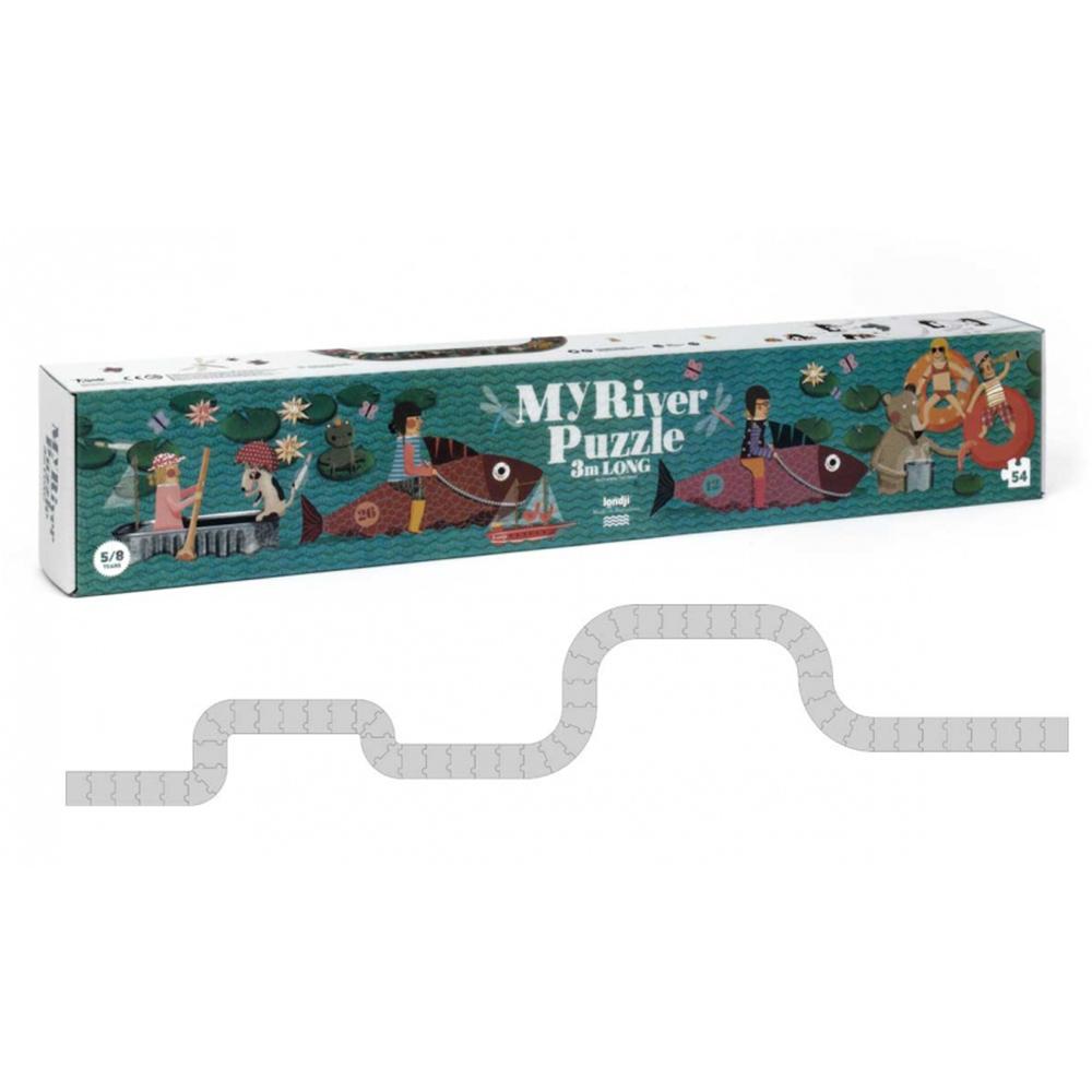 西班牙Londji 遊河玩樂三公尺軌道拼圖