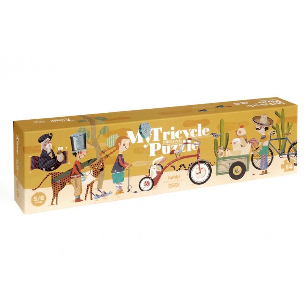 西班牙Londji|三輪拖車兩公尺巨型拼圖