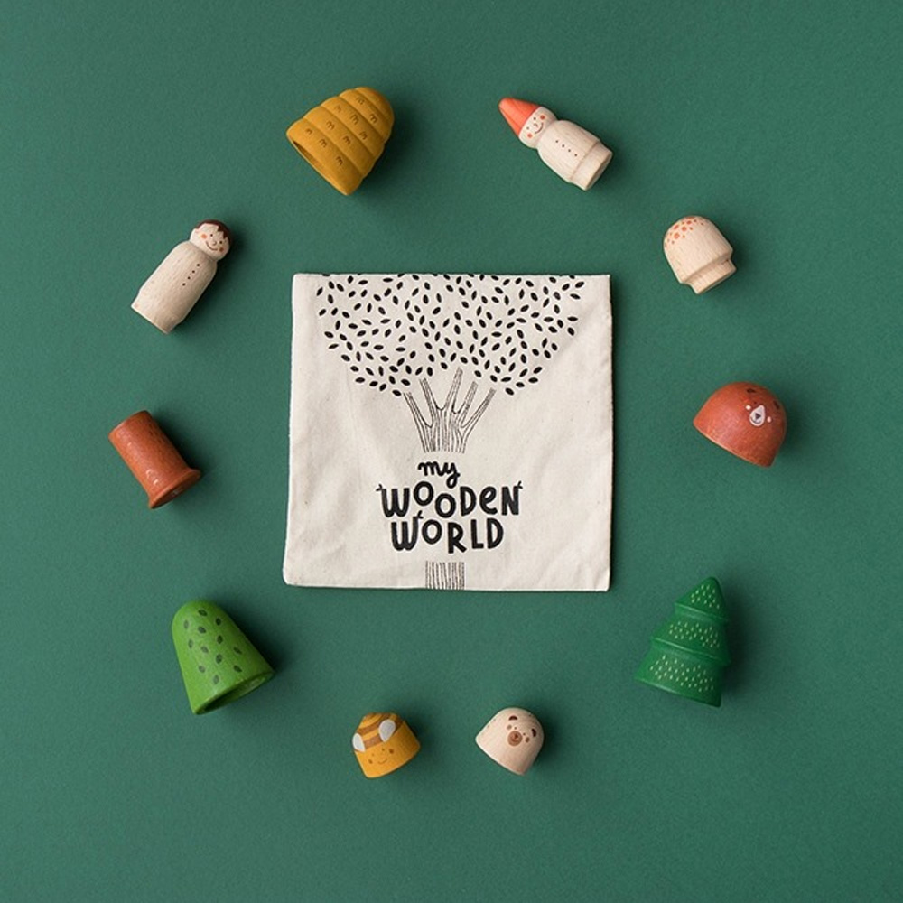 西班牙Londji|森林世界木製玩具