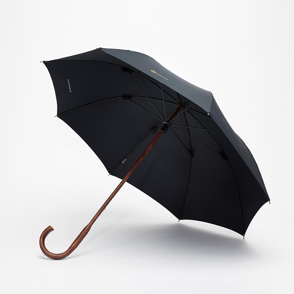 DECUS CLASSIC | WOODEN經典威登傘(黛麗黑)