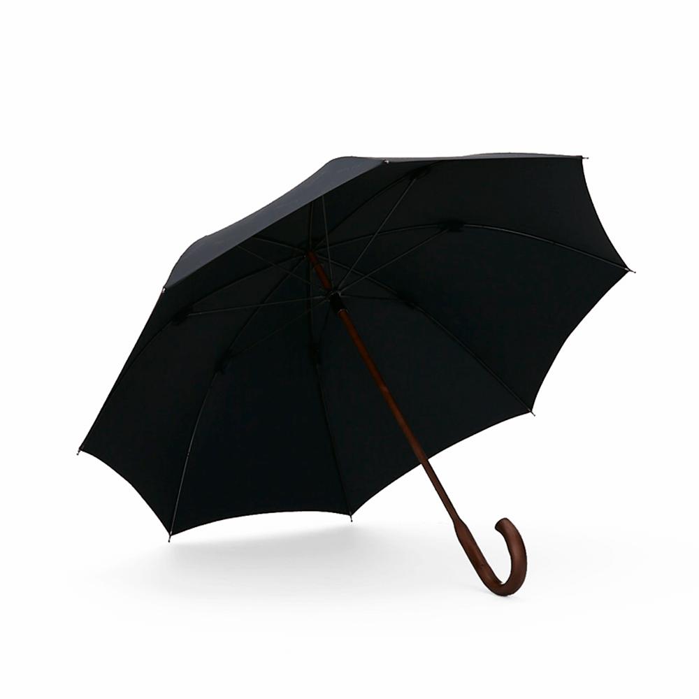 DECUS│CLASSIC WOODEN 經典威登木直傘 - 黛麗黑
