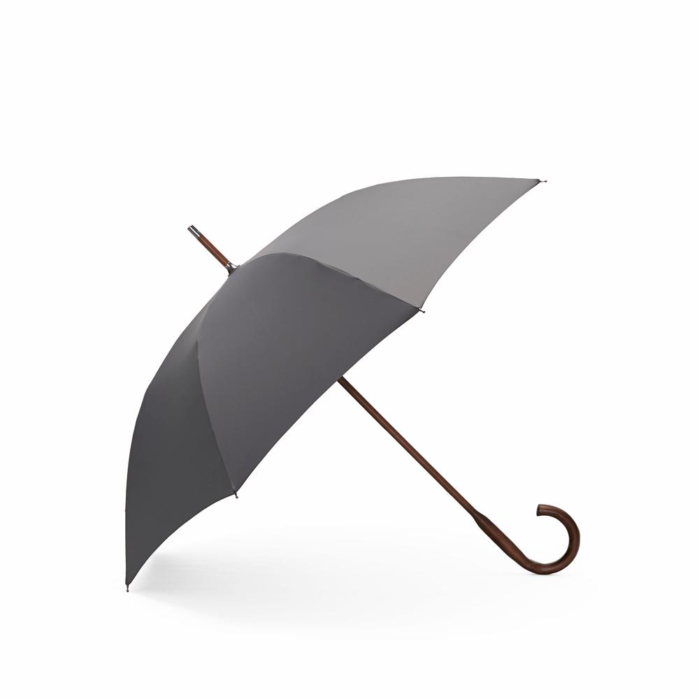 DECUS│CLASSIC WOODEN 經典威登木直傘 - 世襲灰