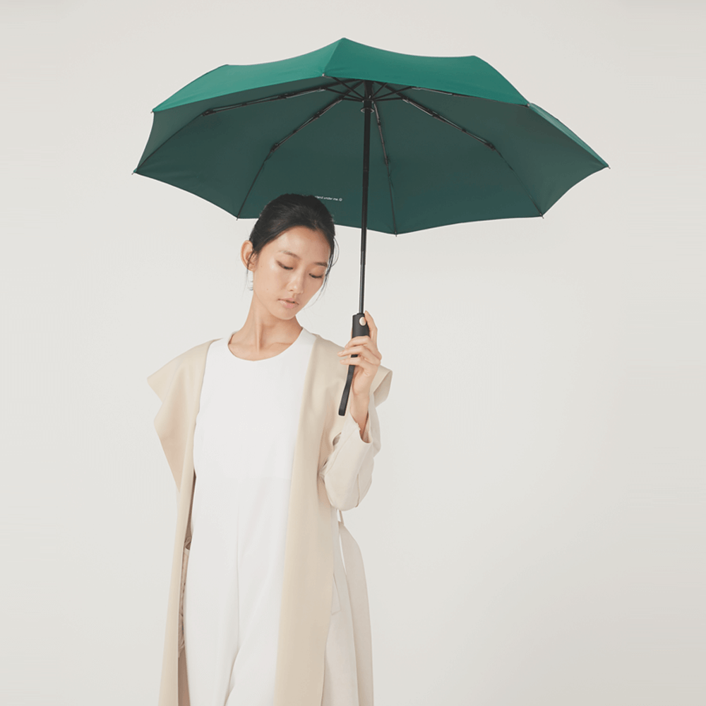 DECUS│POCKET AUTO 時尚仕幔自動折傘-翡冷翠