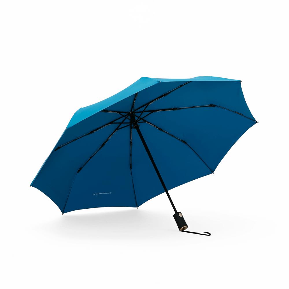 DECUS│POCKET AUTO 時尚仕幔自動折傘-多瑙藍