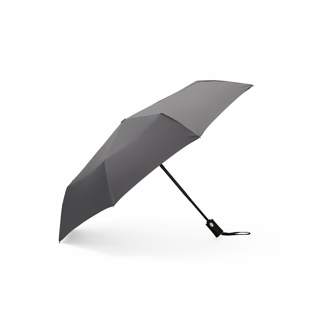 DECUS│POCKET AUTO 時尚仕幔自動折傘-世襲灰