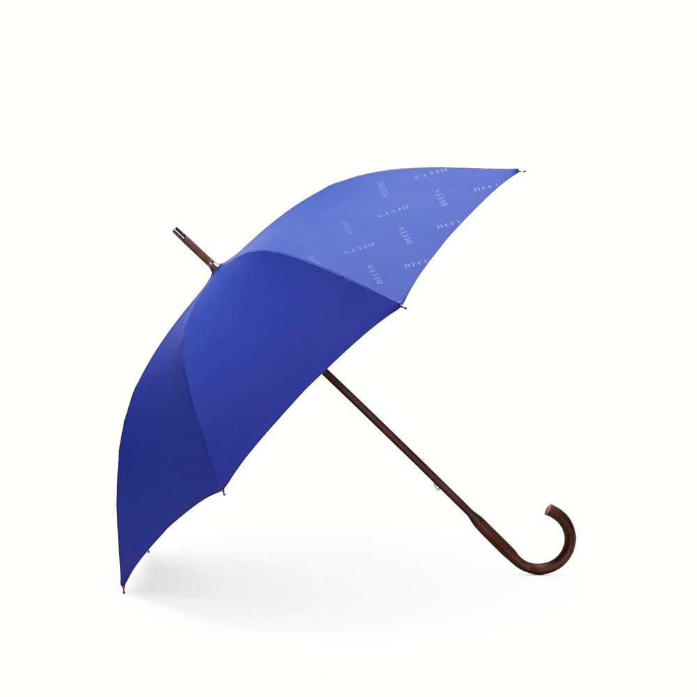 DECUS│CLASSIC WOODEN 經典威登木直傘 - 深邃藍