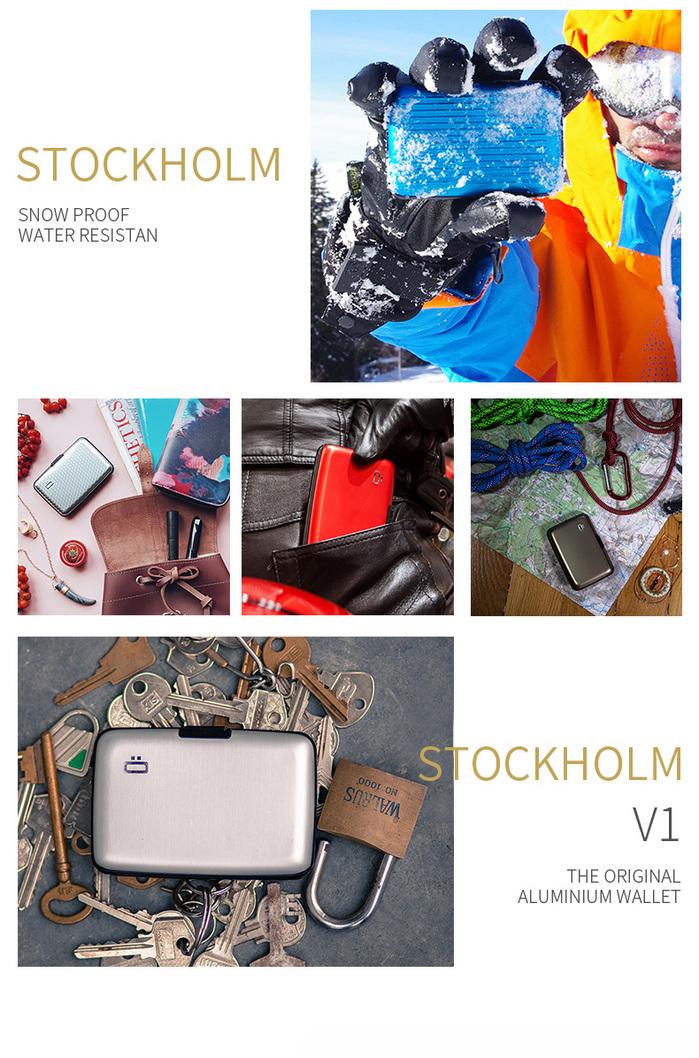 ÖGON|Stockholm RFID安全防盜經典卡匣(共12色)