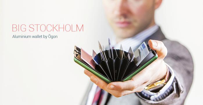 ÖGON|Code Wallet RFID安全防盜密碼錢包(銀色)