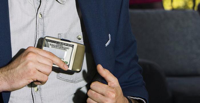 ÖGON|Stockholm RFID安全防盜鈔票夾錢包-4色任選