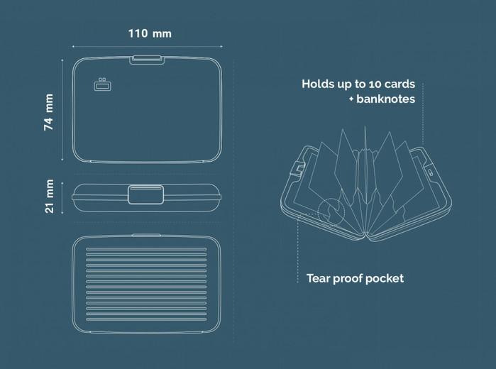 ÖGON|Stockholm RFID安全防盜經典卡匣-13色任選