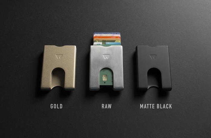 WalterWallet ALUMINIUM WALLET 鋁製卡夾-4色任選