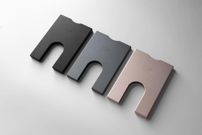 WalterWallet ALUMINIUM SLIM WALLET 鋁製纖細卡夾4張卡-3色任選