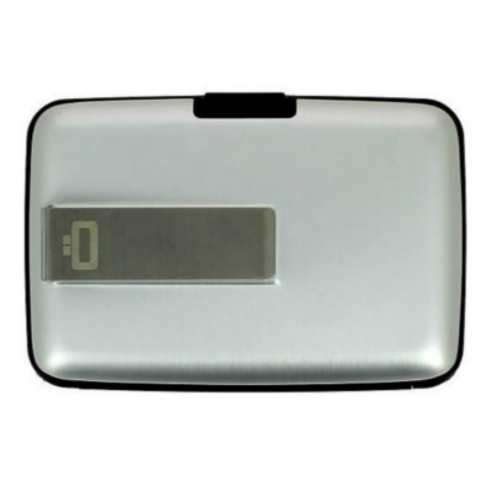 ÖGON Stockholm RFID 安全防盜鈔票夾錢包-Silver 銀色