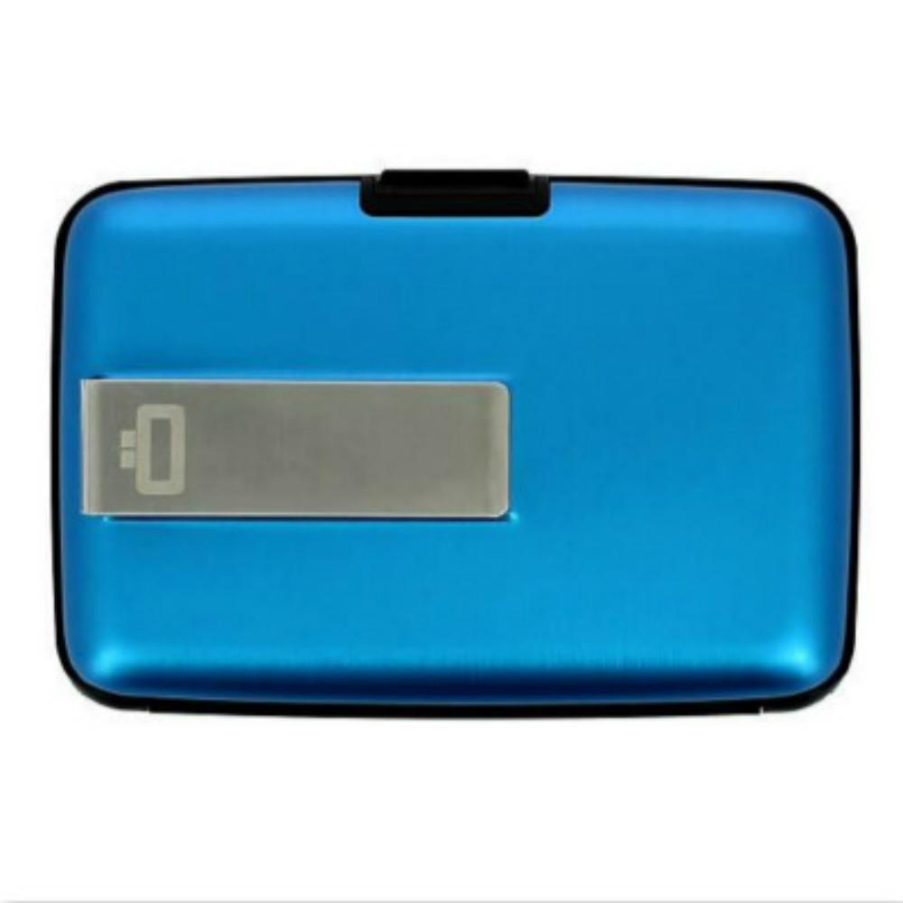 ÖGON|Stockholm RFID 安全防盜鈔票夾錢包-Blue 藍色