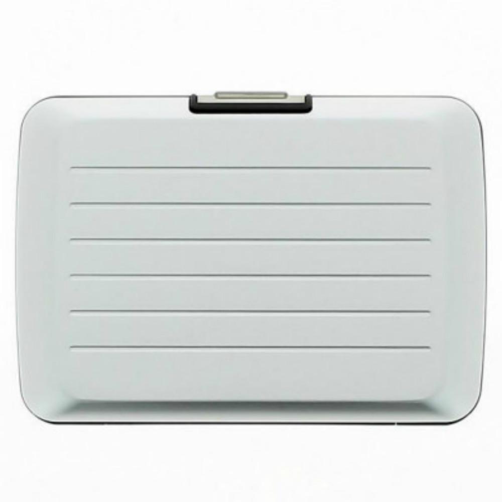 ÖGON|Stockholm V2 RFID 安全防盜鋁製錢包-Silver 銀色