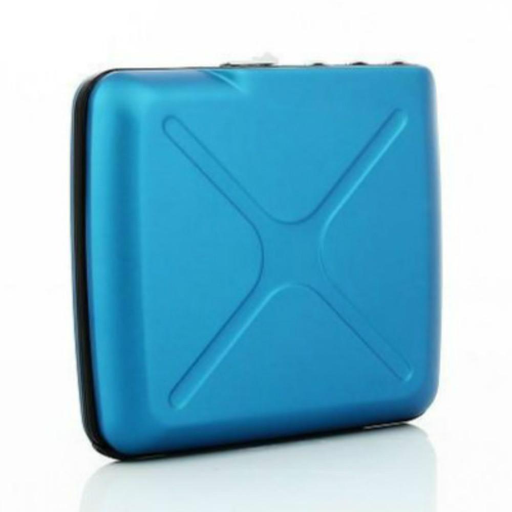 ÖGON|Code Wallet RFID 安全防盜密碼錢包-Blue 藍色