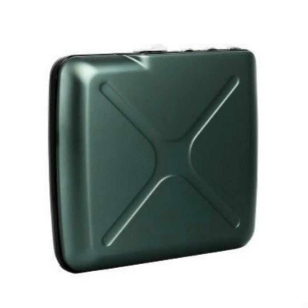ÖGON|Code Wallet RFID 安全防盜密碼錢包-Platinium 鈦灰色