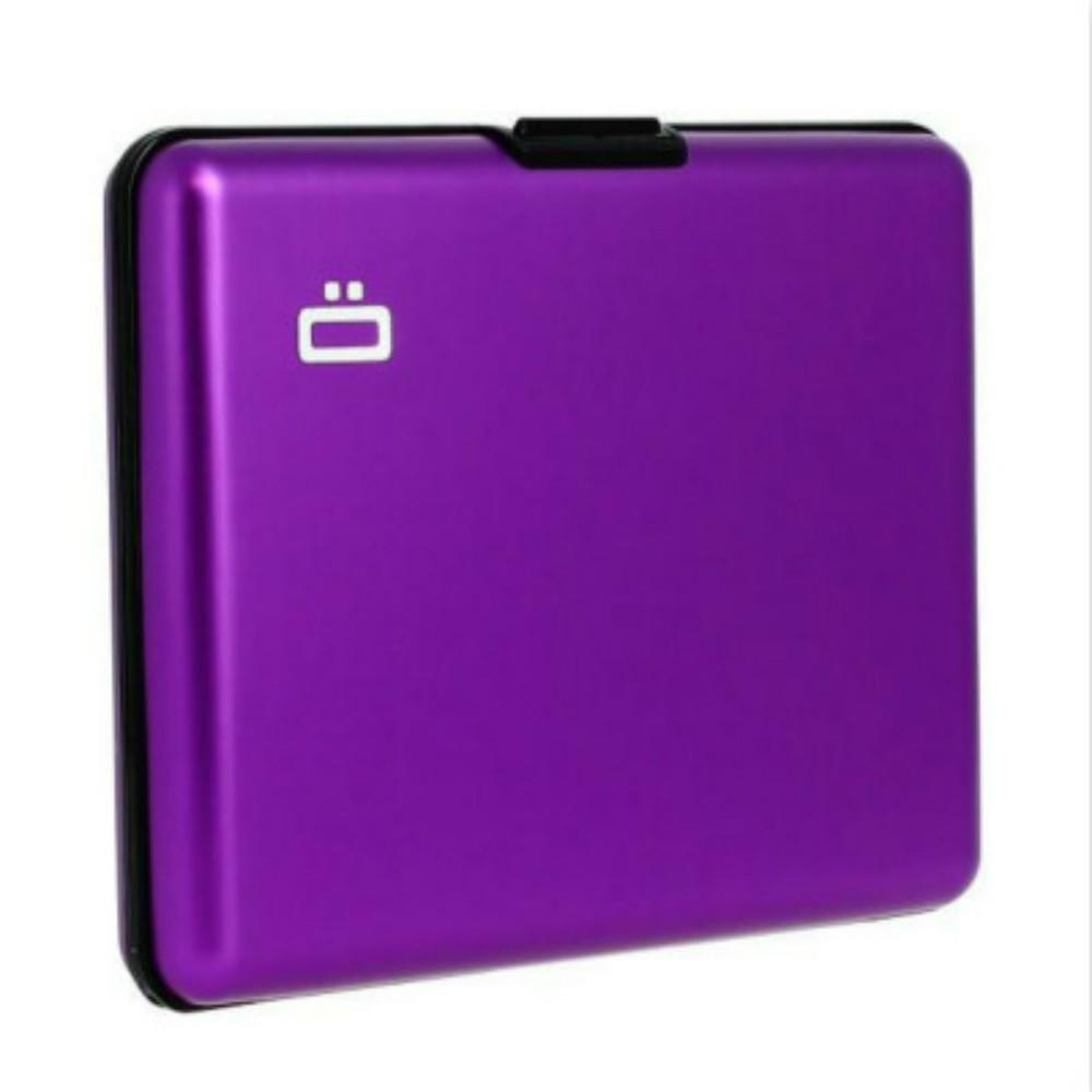 ÖGON|Big Stockholm RFID 安全防盜經典錢包-Purple 紫色