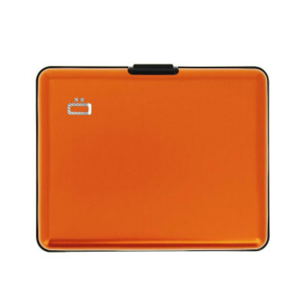 ÖGON Big Stockholm RFID 安全防盜經典錢包-Orange 橘色