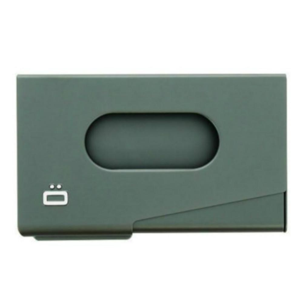 ÖGON|One-Touch RFID 安全防盜名片夾-Platinium 鈦灰色