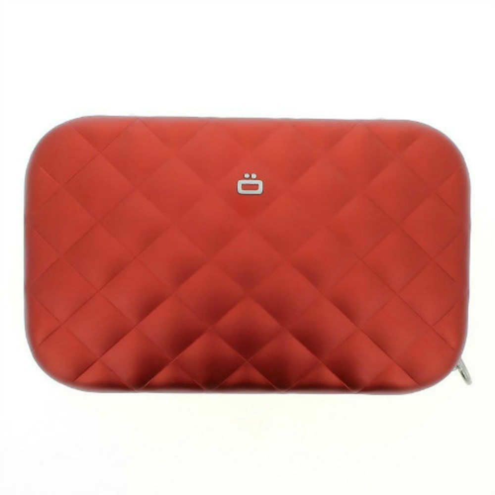 ÖGON|Quilted Lady Bag RFID 安全防盜菱格紋女用包-Red 紅色