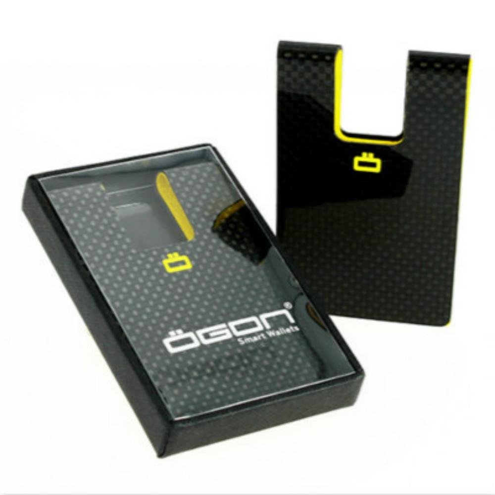 ÖGON|Carbon Card Clip RFID安全防盜碳纖維卡夾