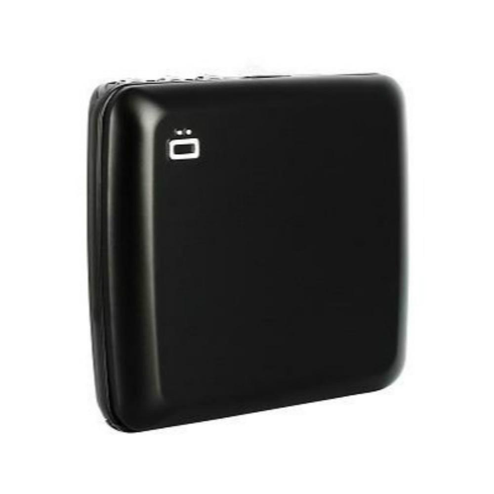 ÖGON Code Wallet RFID 安全防盜密碼錢包-Black 黑色