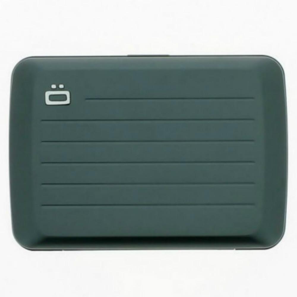 ÖGON|Stockholm V2 RFID 安全防盜鋁製錢包-Platinium 鈦灰色