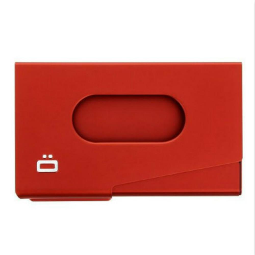 ÖGON One-Touch RFID安全防盜名片夾(紅色)