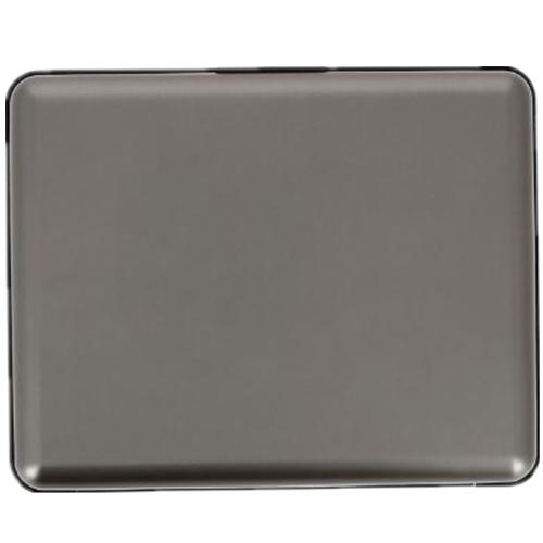 ÖGON|Big Stockholm RFID 安全防盜經典錢包-Titanium 金屬灰色