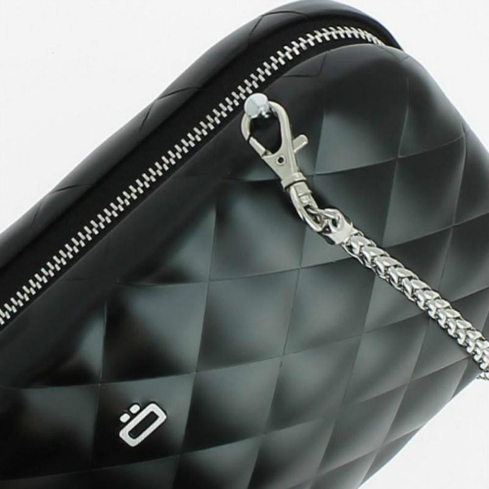 ÖGON|Quilted Lady Bag RFID 安全防盜菱格紋女用包-Black 黑色