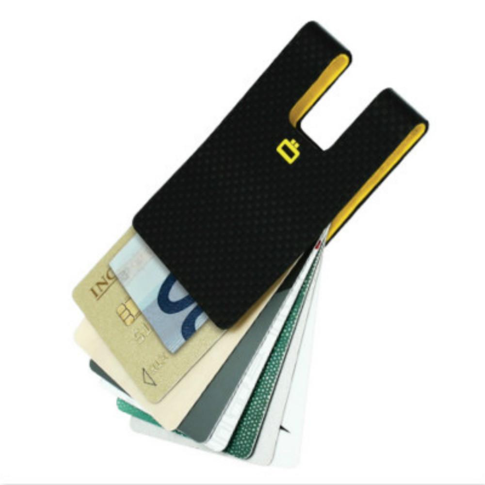 ÖGON i3C Carbon Card Clip RFID 安全防盜輕碳纖維卡夾