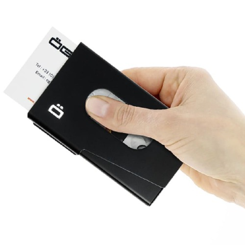 ÖGON|One-Touch RFID安全防盜名片夾-7色任選