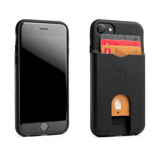 WalterWallet|PHONE WALLET 手機卡夾-Black 黑色