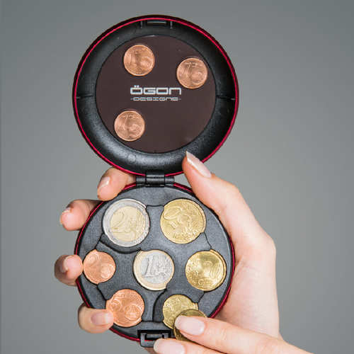 ÖGON Euro Coin 安全防盜零錢盒-6色任選