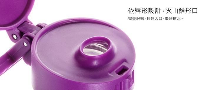 (複製)美國 Glasstic 安全防護玻璃運動水瓶470ml經典款-掀蓋黑