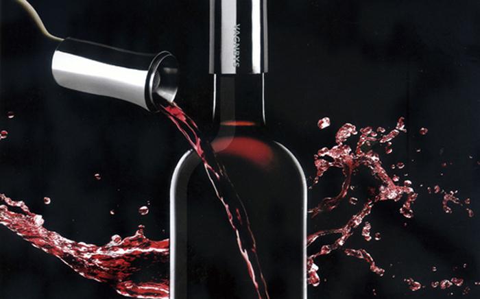 (複製)紅點產品設計獎桂冠:丹麥 VAGNBYS 三合一醒酒注酒封酒器(典雅銀)