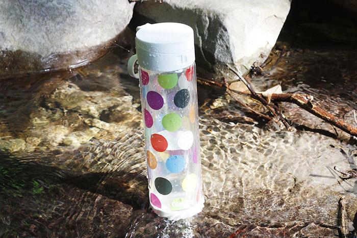 (複製)美國 Glasstic│安全防護玻璃水瓶470ml經典小lo款-掀蓋白(搭贈可愛乳牛圖卡)