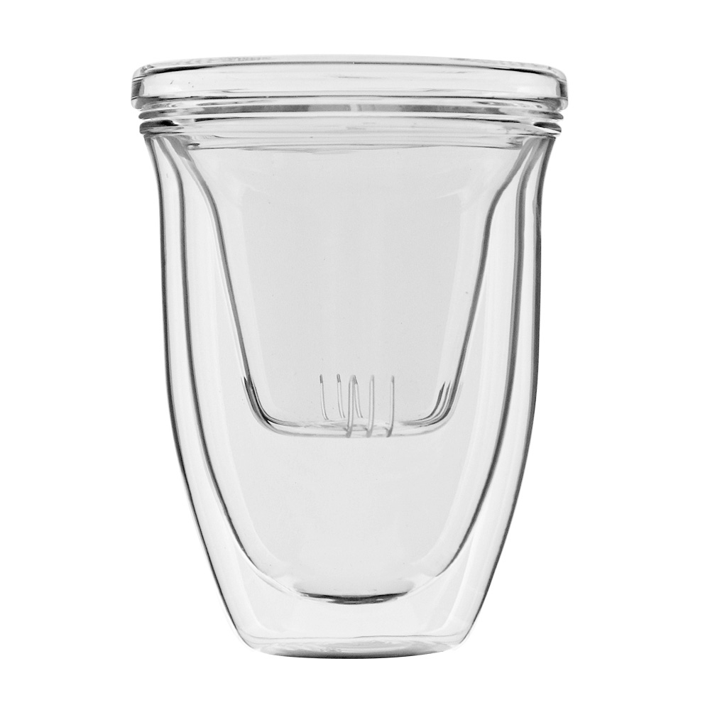 iLoveGlass │ 雙層玻璃泡茶濾茶組 300ml (含玻璃濾茶器)