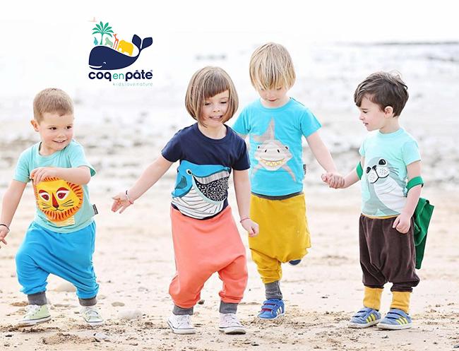 (複製)COQENPATE│法國有機棉童趣 短袖 T-SHIRT - 大猩猩