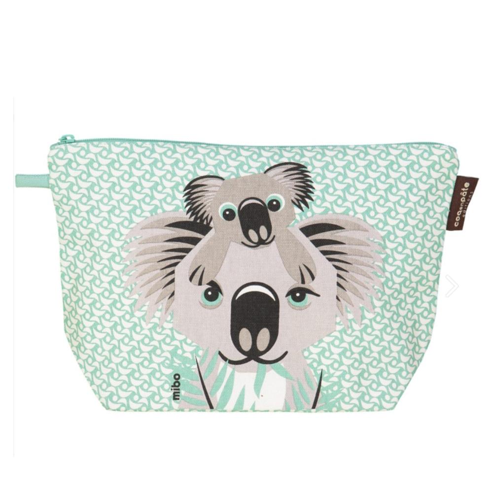 COQENPATE│法國有機棉無毒環保布包 / 大大水堅包 - 無尾熊