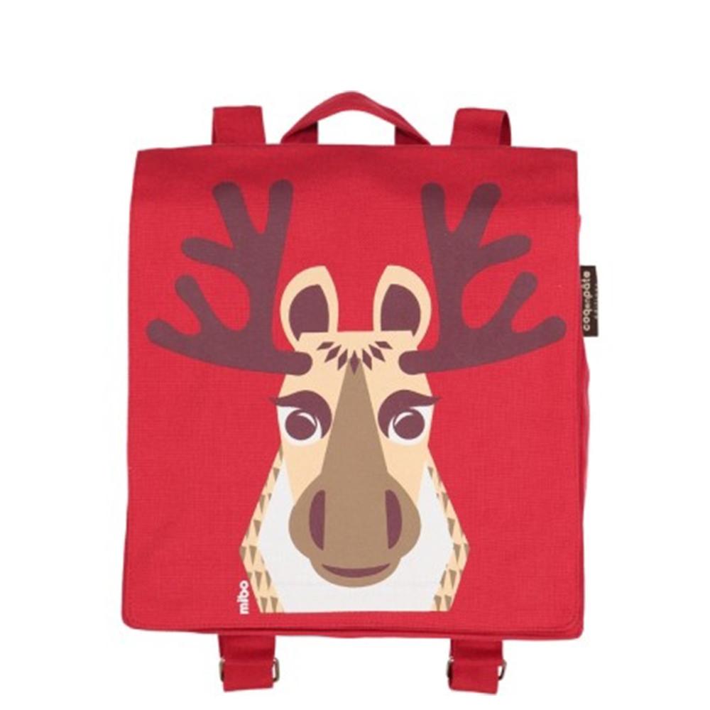 COQENPATE│法國有機棉無毒環保布包 / 小童寶包幫- 麋鹿