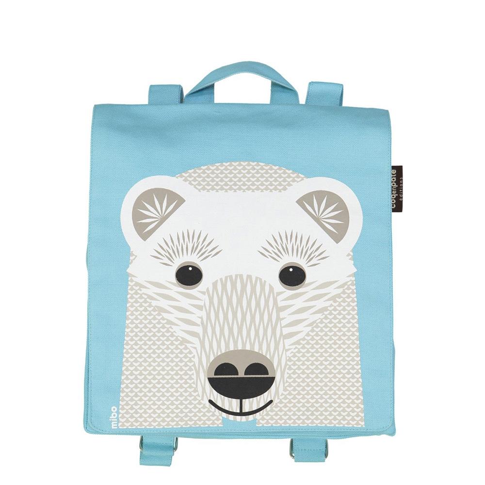 COQENPATE│法國有機棉無毒環保布包 / 小童寶包幫- 北極熊